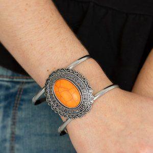 Extra Empress-ive Orange Bracelet